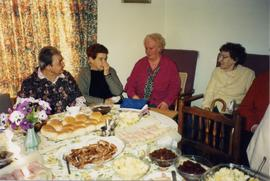 Tea at Lavender Place Flats, 1997