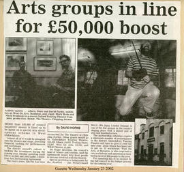 Arts Groups in Line For £50k boost