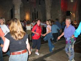 Barn Dance held in St. Mary's Church in 2003.
