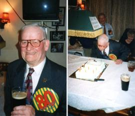 Francis Shergold's 80th birthday
