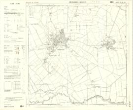 1974 OS map of Bampton and Aston