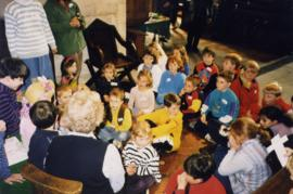 Junior Church in St Mary's Good Friday 1999