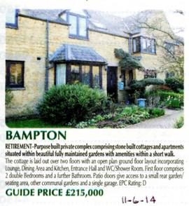 A retirement home for sale in The Lanes