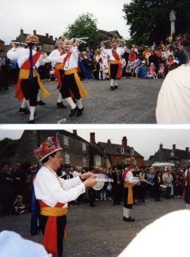 Manley Morris from Rumworth visit Bampton 1999