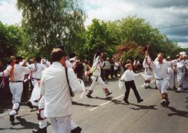 Morris Dancing Spring Bank Holiday 2000
