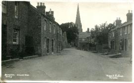 Church View looking towards St Mary's, early C20th