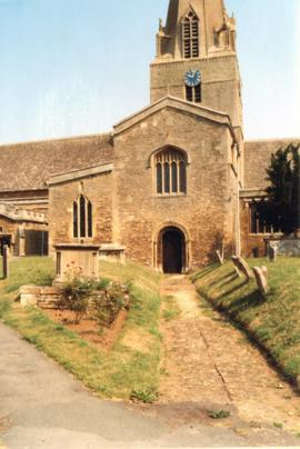 Dr Alan Gaydon's photographs of St Mary's