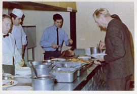 Canteen at RAF Bampton Castle 1971