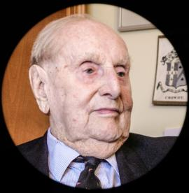 Brigadier Rupert Crowdy celebrated his 105th birthday March 13th 2015