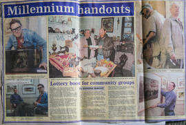 West Ox Arts is one of 6 organisations in W. Oxon to get Millennium Lottery handout.