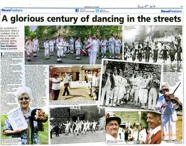 Exhibition on the History of Morris Dancing in Bampton 2014