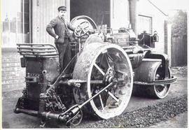 1898 Fowler steam roller