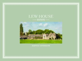 Sales brochure for the Lew House Estate 2019