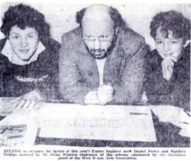 Easter Inquirer being compiled 1974