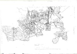 Pre Inclosure map of Clanfield, Bampton, Aston & Yelford
