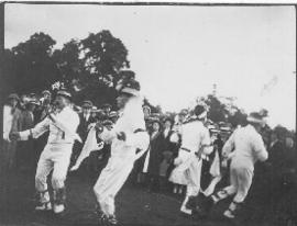 Morris Dancing, possibly 1913
