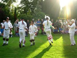 Bampton Traditional Morris Men 2003