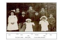 James & Elizabeth Green and children C1902