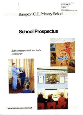 Bampton C of E Primary School Prospectus October 2001