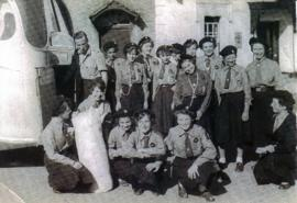 Girl Guides in Bampton C1958