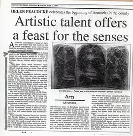 Arts Weeks, May 1999