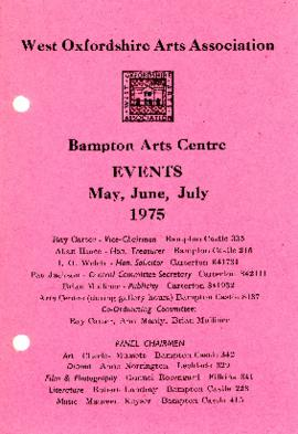 WOAA Events in May, June and July 1975