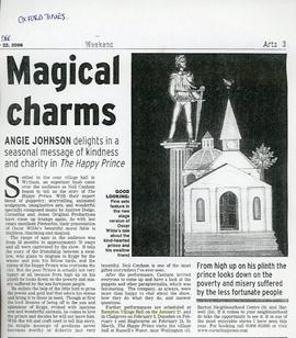 Neil Canham, storyteller, tells the story of 'The Happy Prince' January 2007