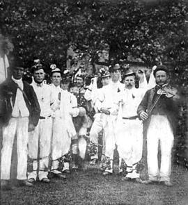 Bampton Morris Dancers in the first half of the twentieth century