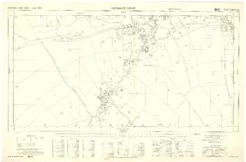 Four OS maps of Bampton 1971