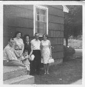 Nan and George Dafter visiting his brother Bernard in the USA