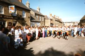 Rumworth and South Downs, guest sides 1986