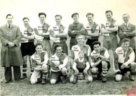 Bampton Football team late 1950s