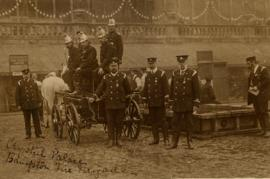 Bampton Fire Brigade at Crystal Palace July 1907