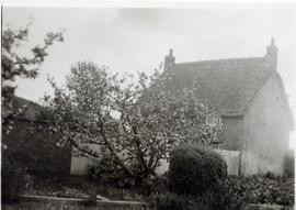 Sweet Briar Cottage when it was thatched