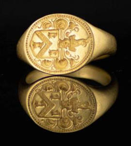 Bampton Gold ring found, sold at auction for £10,000