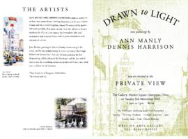 'Drawn To Light' watercolours by Ann Manly & Dennis Harrison 2002