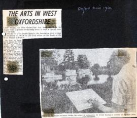 1980 West Ox Arts celebrates its 7th year with an open air event at Radcot Bridge